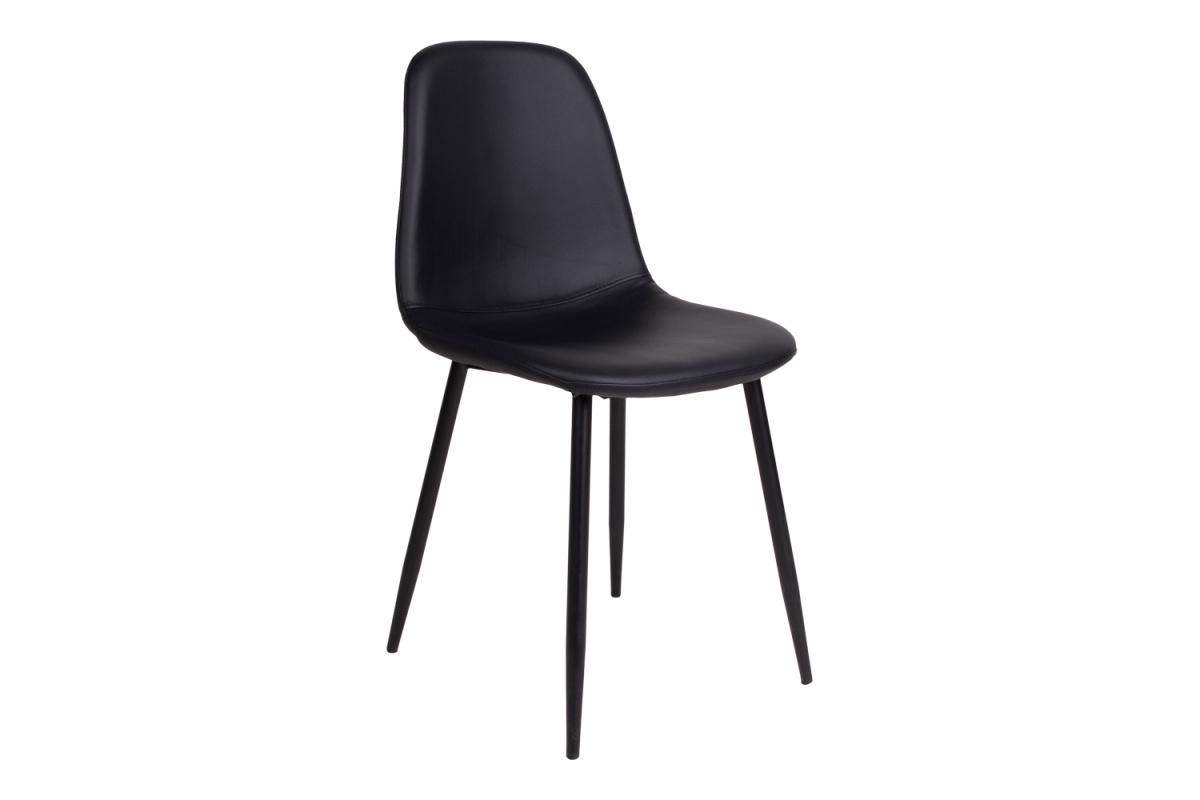Designová jídelní židle Myla, černá