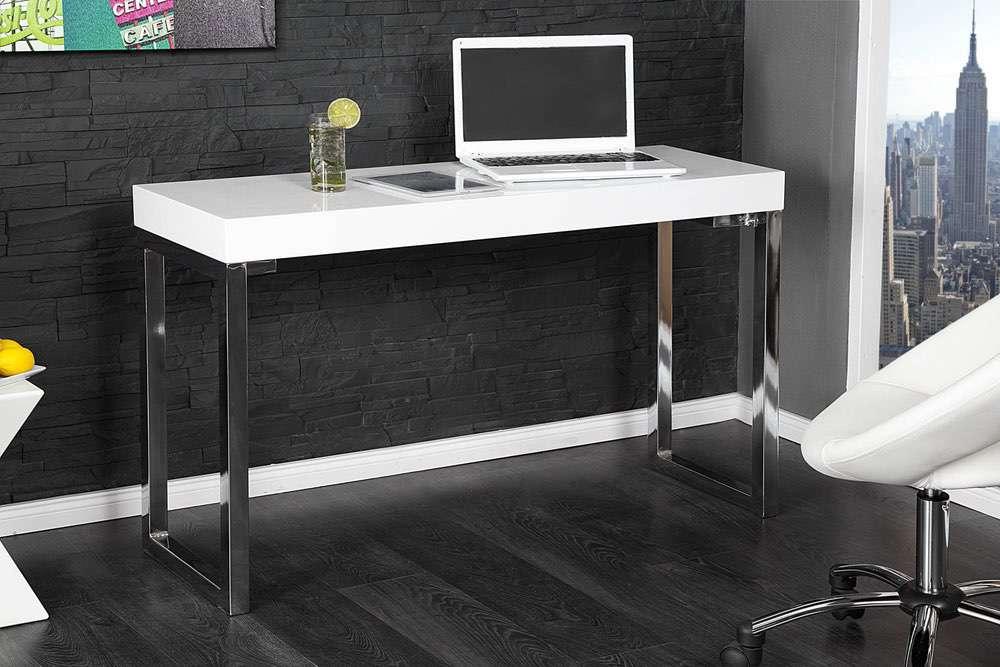 LuxD Psací stůl Office bílý