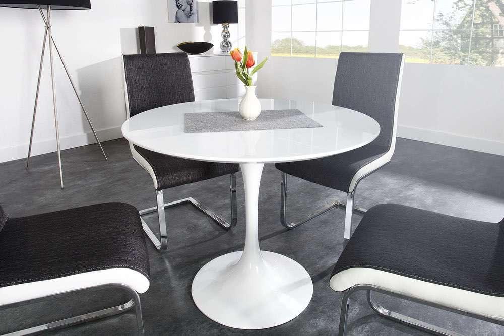 LuxD Designový jídelní stůl Polar 90cm