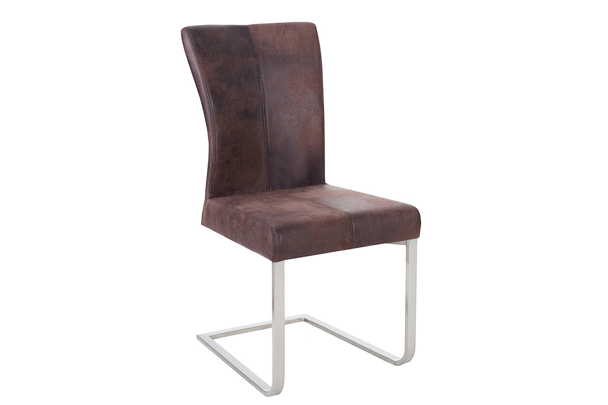 Židle Bull kávově hnědá