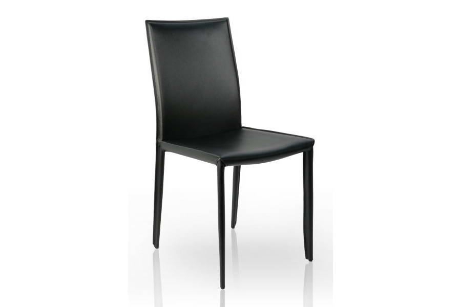 Židle Neapol černá kůže
