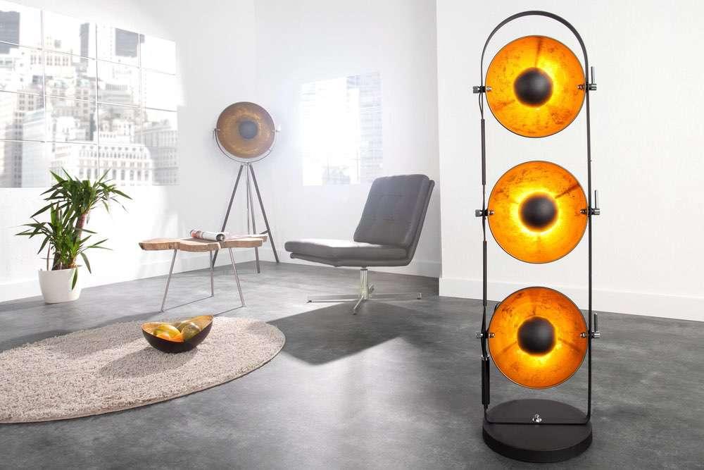 LuxD 17105 Stojanová lampa STAGE černá - Skladem (RP) závěsné svítidlo