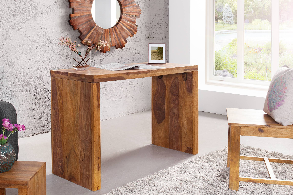 LuxD Psací stolek Timber Honey