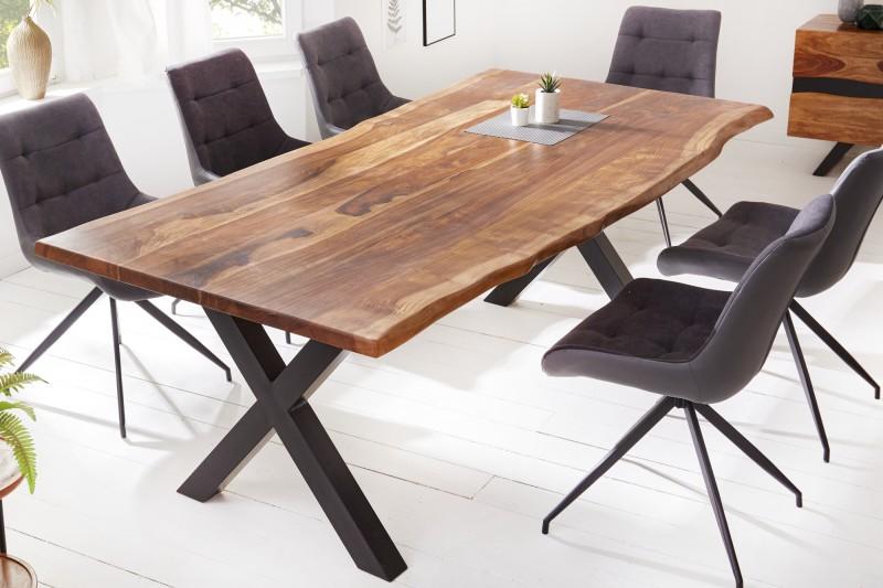 Levně LuxD Designový jídelní stůl Argentinas X 220 cm sheesham