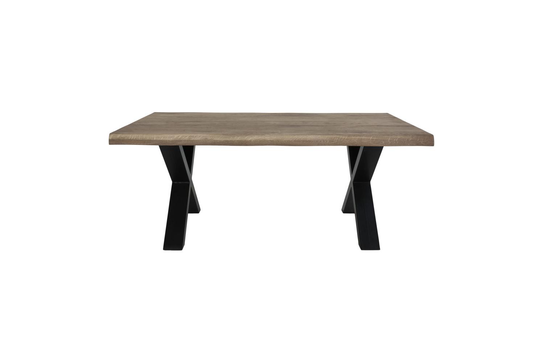 Designový konferenční stolek Jonathon 120 cm kouřový dub
