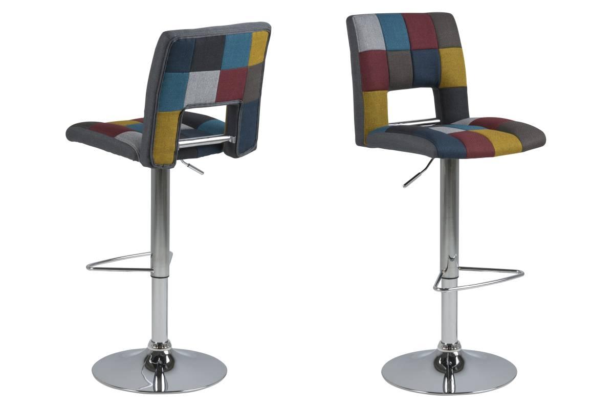 Dkton Designová barová židle Nerine multi barevná