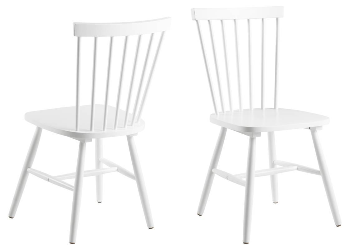 Dkton Designová jídelna židle Neri bílá