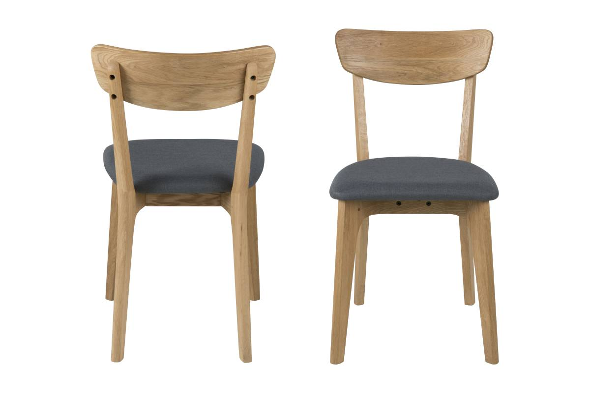 Dkton Designová jídelna židle Niharika dubová