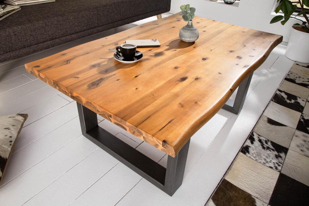 Designový konferenční stůl Evolution 110 cm akácie