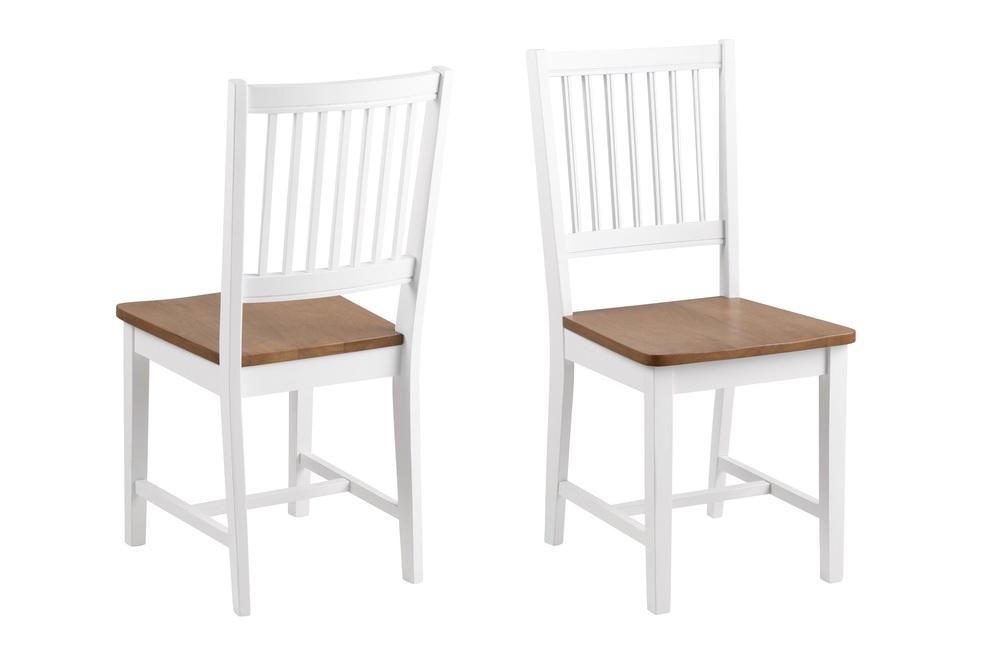 Dkton Jídelní židle Alger bílá