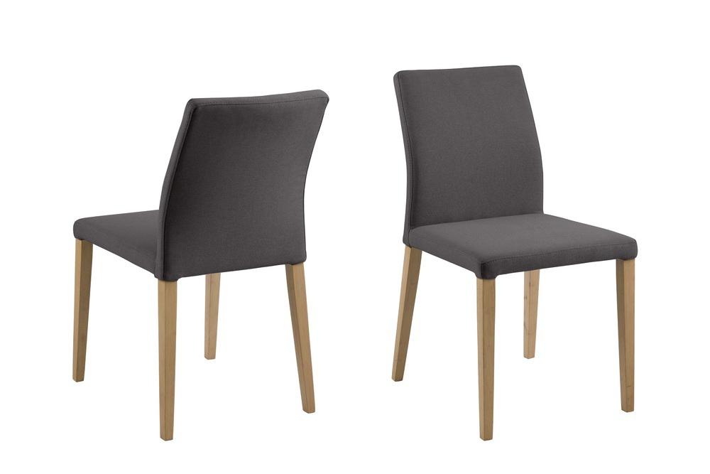 Dkton Jídelní židle Alto tmavě šedá