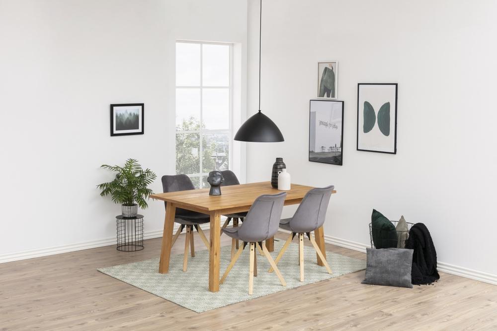 Dkton Jídelní stůl rozkládací Nadida 2 160/250 cm dýhové desky