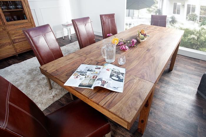 LuxD Jídelní stůl z masivu rozkládací Las Palmas 160-240cm
