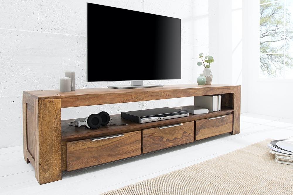 Levně LuxD Luxusní TV stolek Timber masiv 170 cm