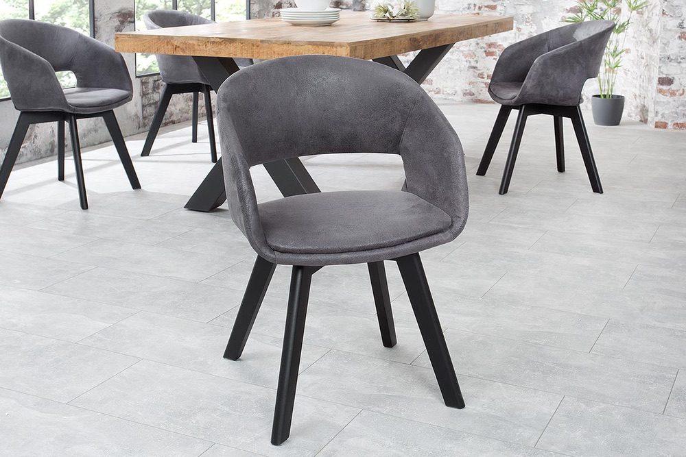 Designová židle Colby antik šedá - Skladem na SK (SB)