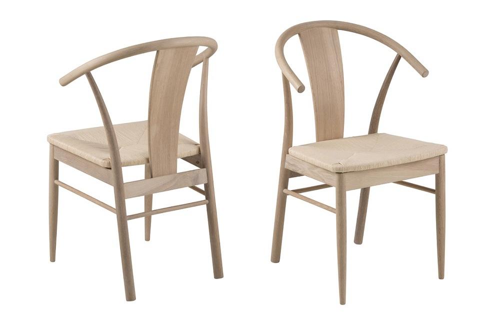 Dkton Stylová jídelní židle Alioth dub